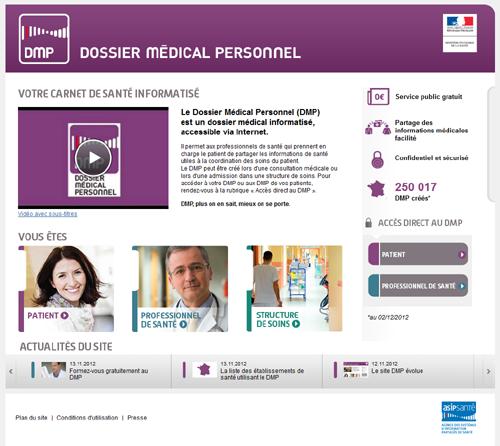 www.dmp.gouv.fr