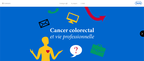 roche lance deux webzines sur le lymphome et le cancer colorectal. Black Bedroom Furniture Sets. Home Design Ideas