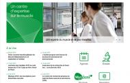 Un nouveau site web pour l'Institut de Myologie