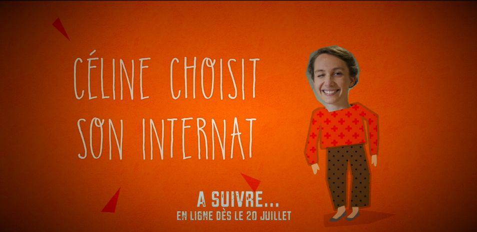 Céline choisit son internat