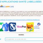 Kiosque d'applications mobile santé
