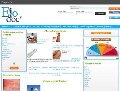 Elodoc : encyclopédie médicale