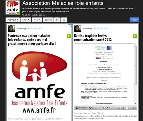 L'AMFE : une association de patient 2.0