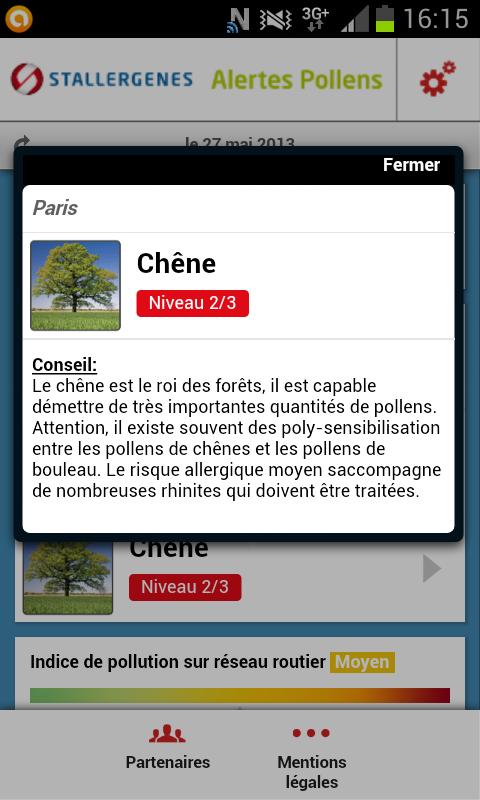 """Stallergenes lance une version Android de l'application """"Alertes Pollen"""""""