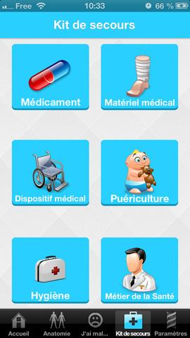 Health in Pocket : guide de conversation médical multilingue pour mobile