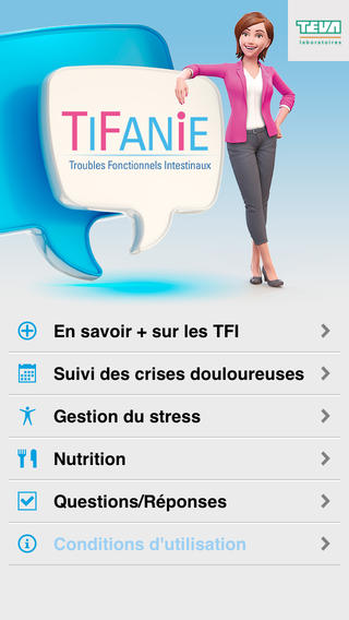 TiFanIe : application pour les patients atteints de troubles fonctionnels intestinaux