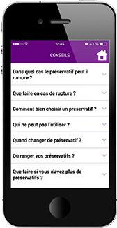 TUP : application mobile pour trouver un préservatif