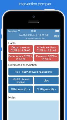 Chronorea : application mobile pour urgentistes
