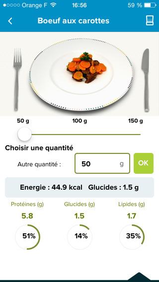 Diabete gourmand : application mobile pour l'alimentation des diabétiques