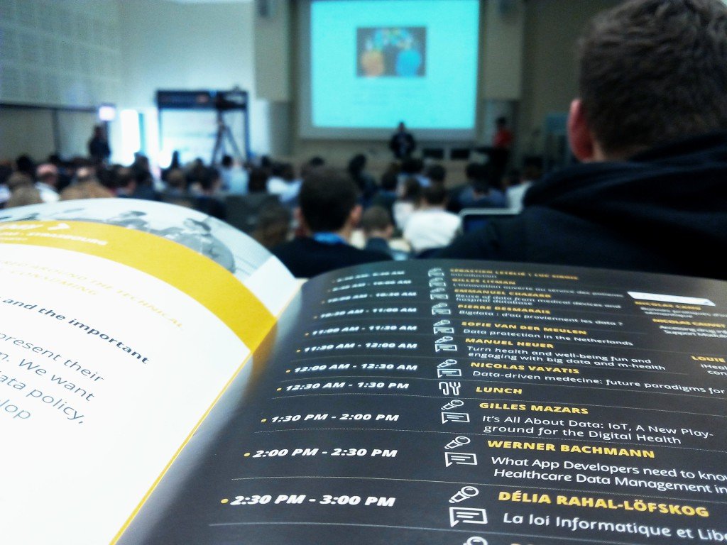 Hacking Health Camp 2015 : émergence de solutions d'avenir