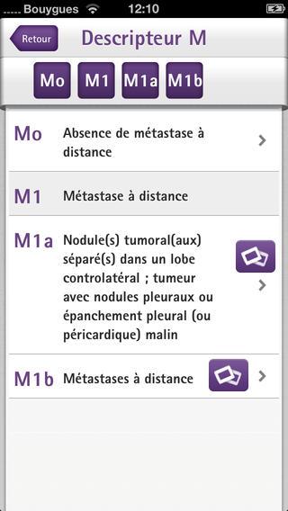 TNM Pocket : application pour classifier les tumeurs pulmonaires