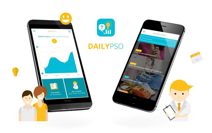 DailyPso : app mobile pour psoriasis