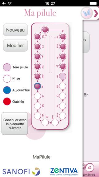 Lancement de l'application Ma Pilule by Zentiva