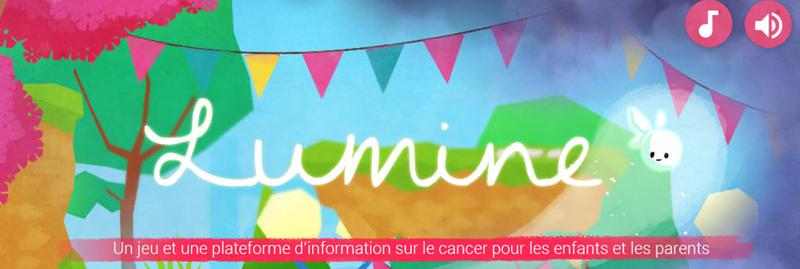 Lumine : serious game pour expliquer le cancer aux enfants