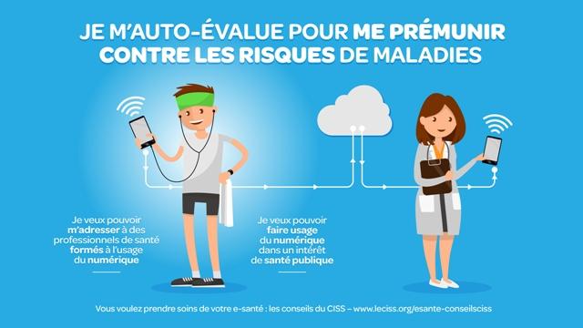 CISS et e-santé : auto-évaluation
