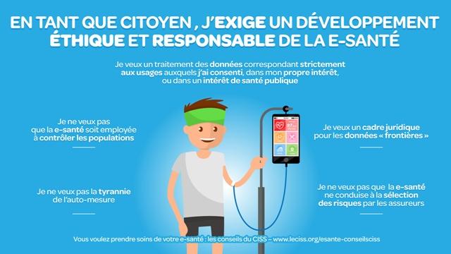 CISS et e-santé : éthique