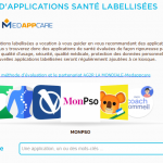 Kiosque d'applications mobile santé
