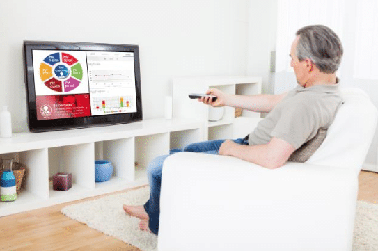 TV connectée Majord'home