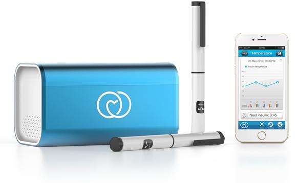 Réfrigérateur mobile pour médicaments LifeInAbox