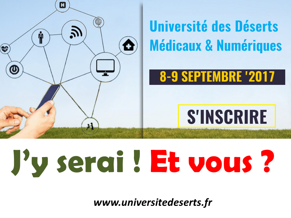 Université d'été des déserts numériques et médicaux