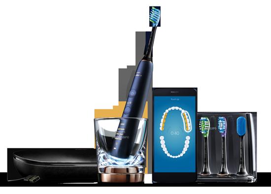 Brosse à dents connectée DiamondClean Smart