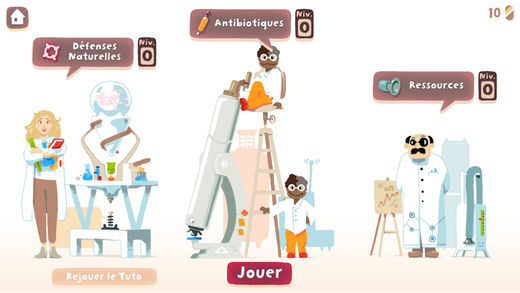 Sanofi lance le jeu mobile Bact'Attack