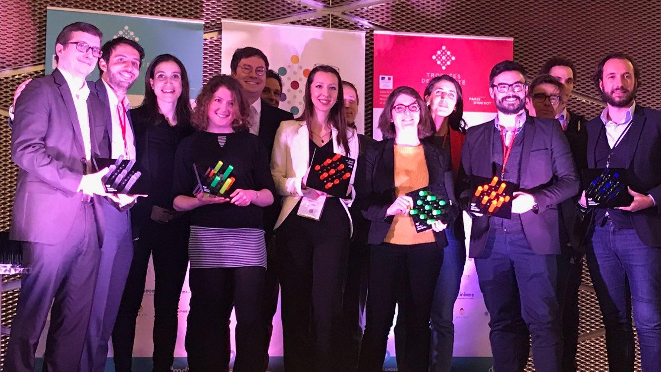 Lauréats des Trophées de la santé mobile 2018