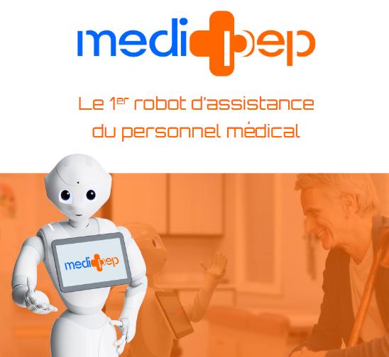 Robot Medipep pour les séniors dépendants