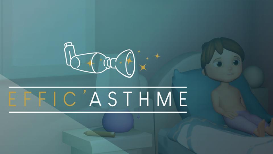Effic'Asthme : application dédiée à la gestion de l'asthme chez l'enfant