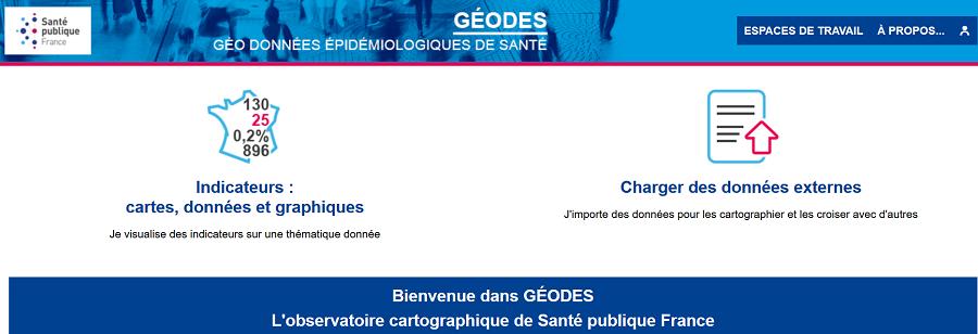 Données de santé : lancement de l'observatoire cartographique dynamique Géodes